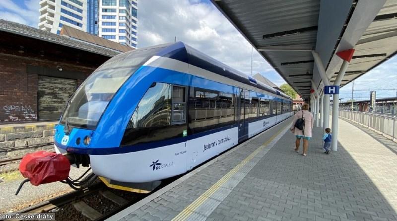 V Olomouckém kraji vyjela do provozu třetí jednotka Stadler GTW