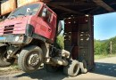 OBRAZEM: Nehoda v železničním podjezdu u Rudy nad Moravou