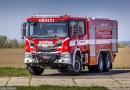 Nové hasičské vozidlo Scania pro SDH Luže
