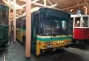 Trolejbus Škoda 14 TrE z Daytonu je dočasně součástí expozice Muzea MHD ve Střešovicích