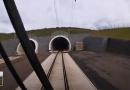 VIDEO: Správa železnic otestovala rychlost 200 km/h v Ejpovickém tunelu