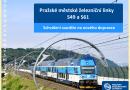Praha chystá soutěž na dopravce 7 nových elektrických jednotek pro městské železniční linky S49 a S61