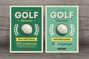 Golf club leaflet distibution