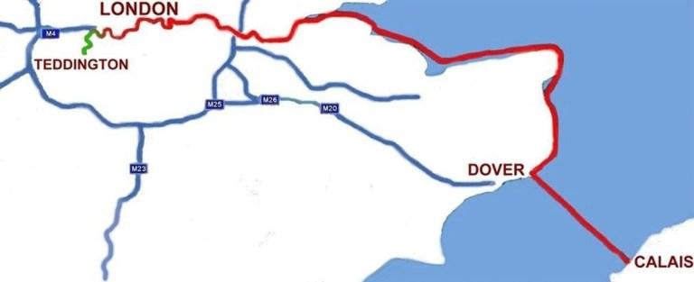 Teddington To Calais 147 Miles Charity Swim