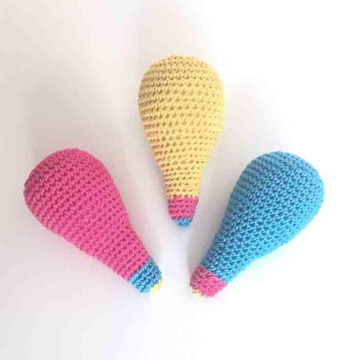 bright ideas crochet amigurumi lightbulb