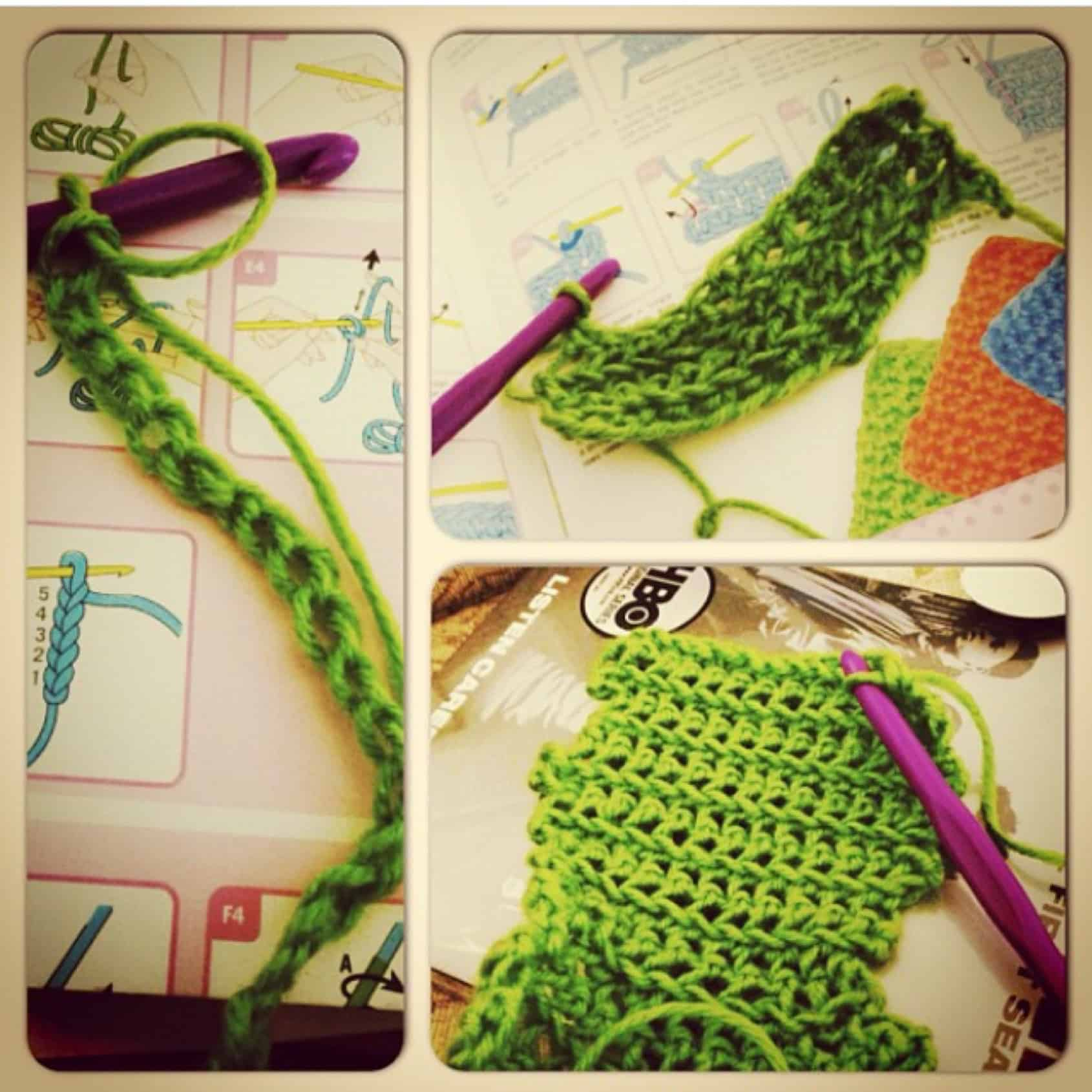 First attempt at crochet