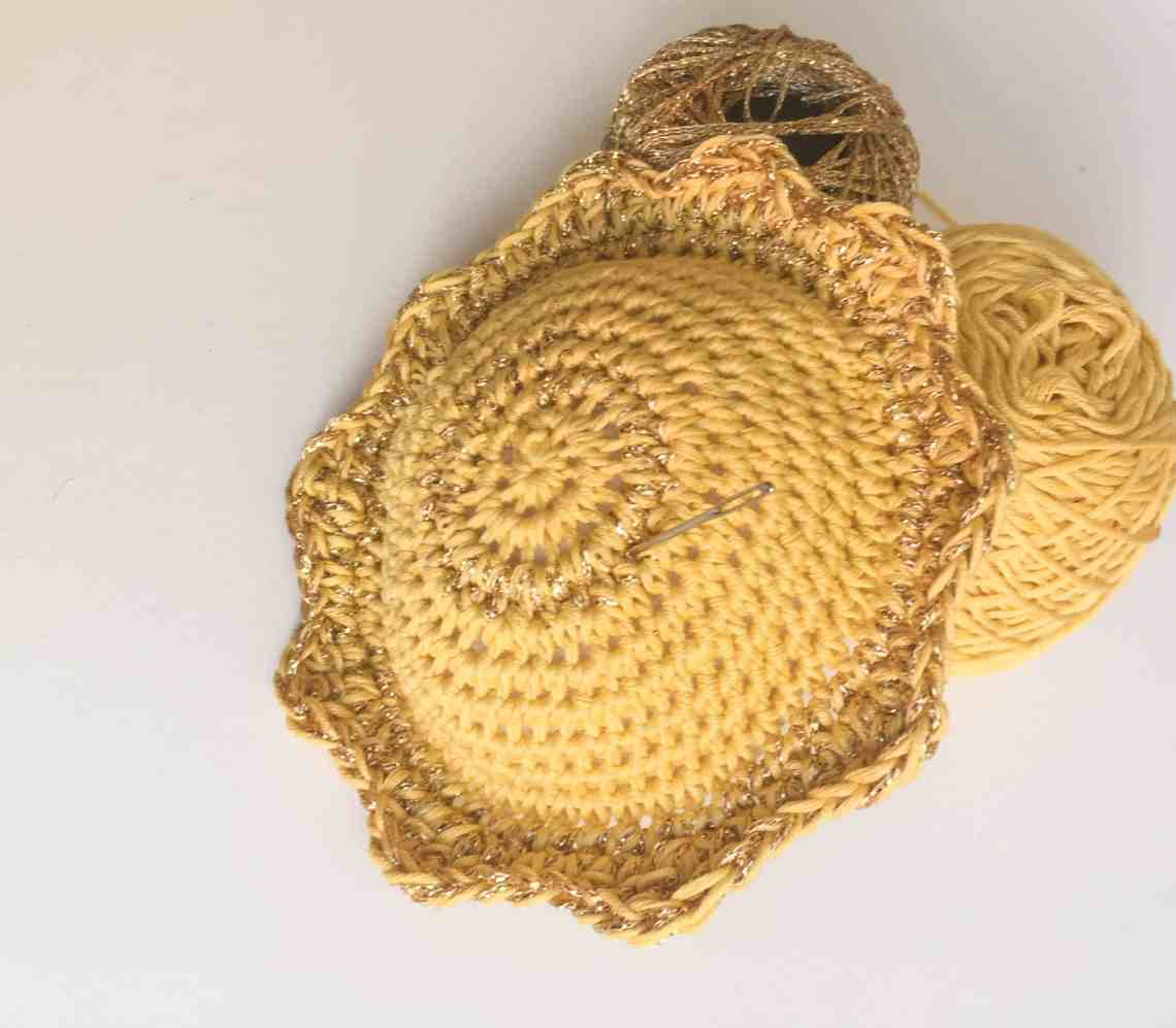crochet sunshine pin cushion free