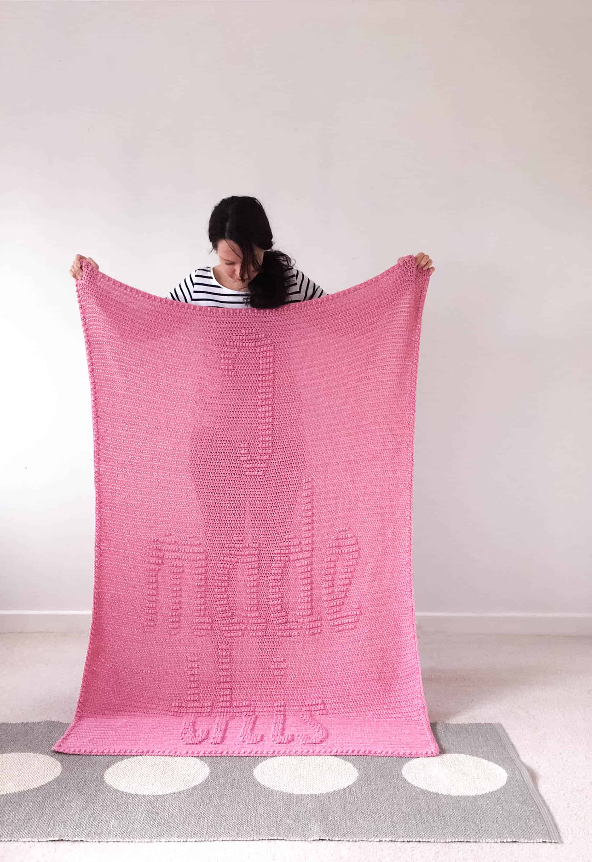 I Made This Blanket Crochet Pattern from DoraDoes