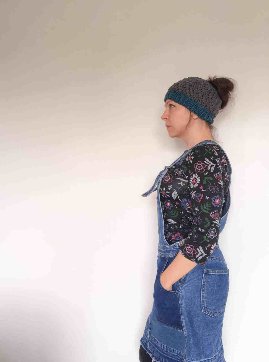 Studio Bun Hat from doradoes.co.uk