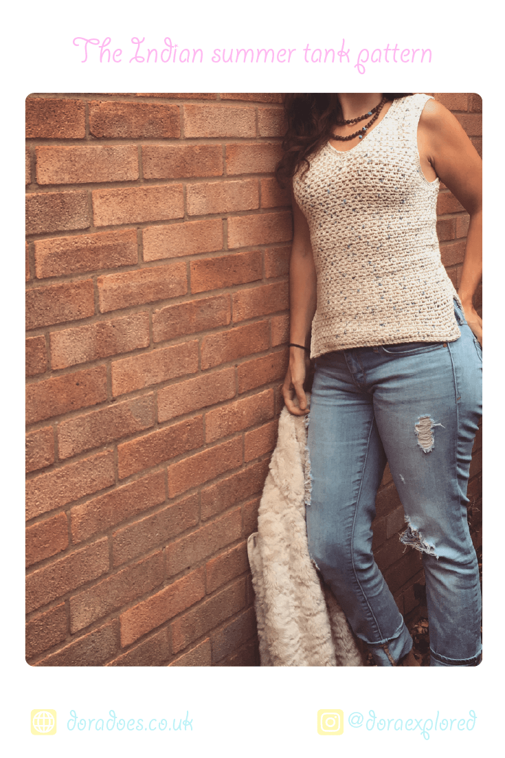 easy crochet tank top pattern