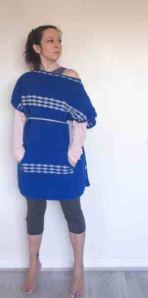 Crochet poncho from doradoes.co.uk