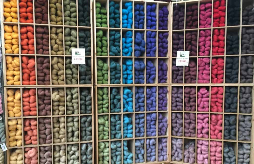 All the yarn all the colours