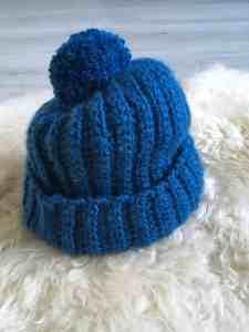 Free crochet beanie hat pattern