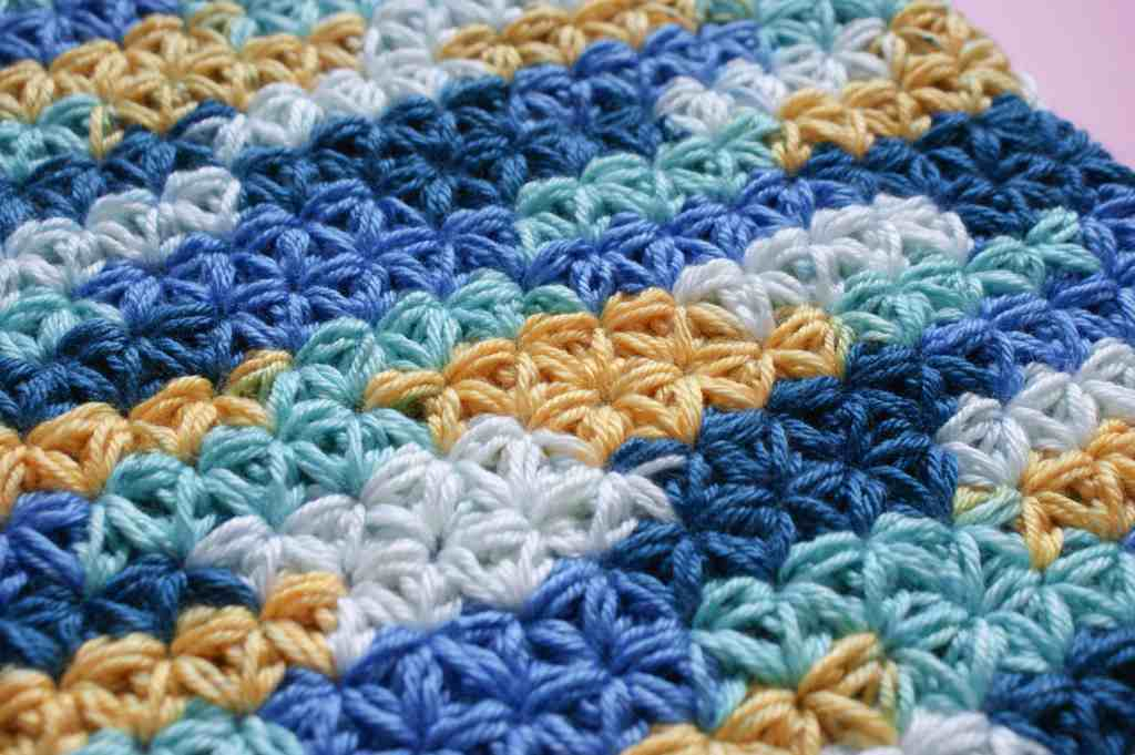 Crochet Jasmine Stitch pattern