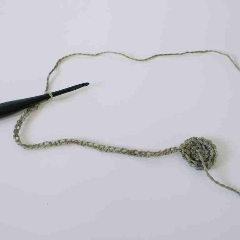 Crochet hook and crochet pattern