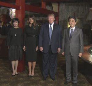 トランプ大統領,レストラン,どこ,うかい亭,値段,メニュー