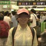 台風,新宿,中継,ピンク帽子,誰,男,女,月曜からの夜更かし
