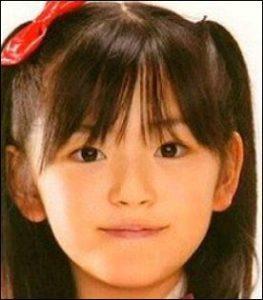 鈴木愛理の子供の頃の二重の画像