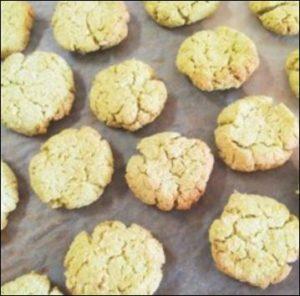 低糖質ダイエットのおやつ おすすめの手作りレシピの生おからときな粉のクッキー