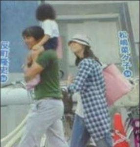 反町隆史さんと松嶋菜々子さんの子供の画像