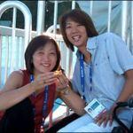 伊東恵さんとソウルオリンピックにでた小谷実可子さんと田中京さんの画像
