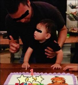 爆乳ボールガールこと金城優華【yuuka】の子供の画像