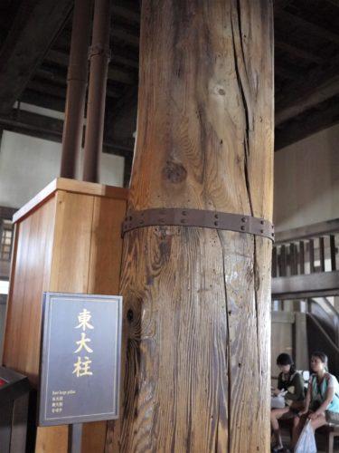 姫路城 東大柱