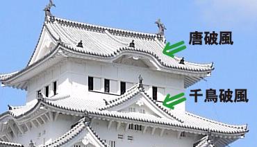 姫路城 破風例