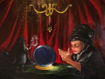 "Quantum Physics, 2015, oil on canvas, 18"" x 24"""