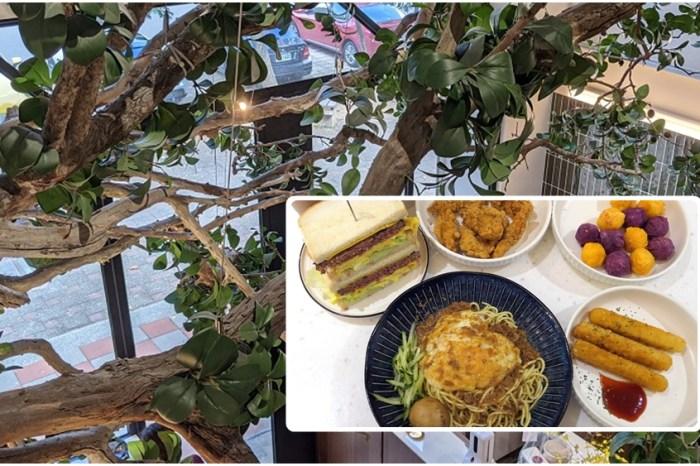 林口台式早餐推薦 | 【早早來吃】寵物友善 親子友善 招牌是台式炒麵及經典起司牛肉厚片吐司
