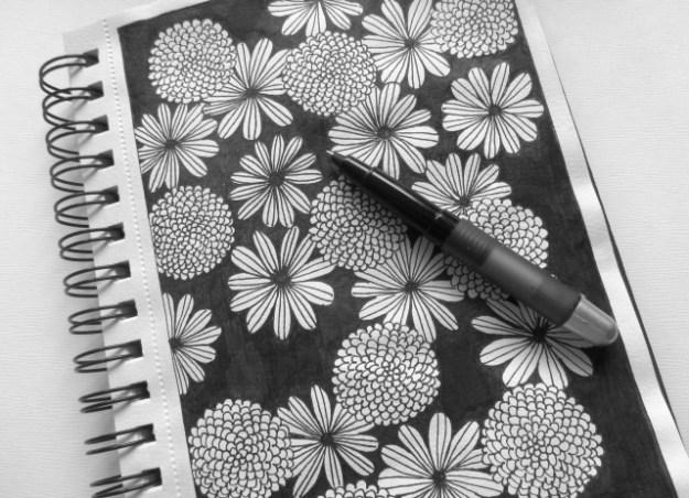flowers doodles