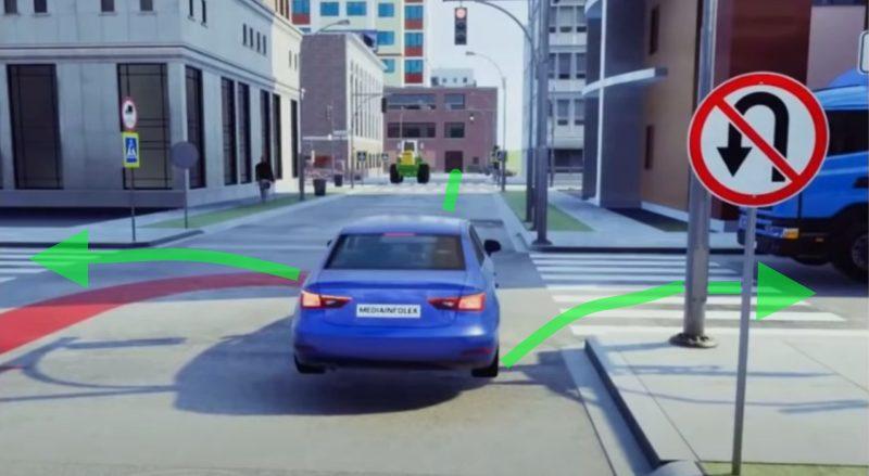 Правила проезда перекреска с установленным дорожным знаком 3.19