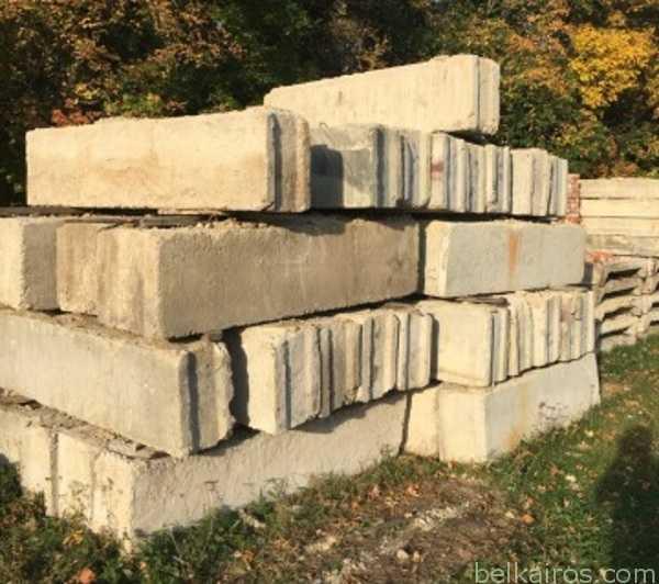 ФБС - блоки стен фундамента б/у в Минске