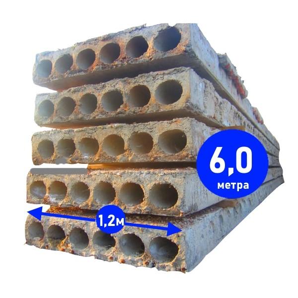 Бывшие в употреблении плиты перекрытия 6 на 1,2 метра в Минске