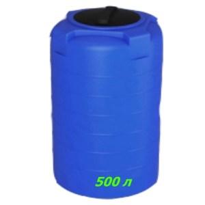 Емкость для воды 500 л из пищевого полиэтилена купить в Минске с доставкой по Беларуси