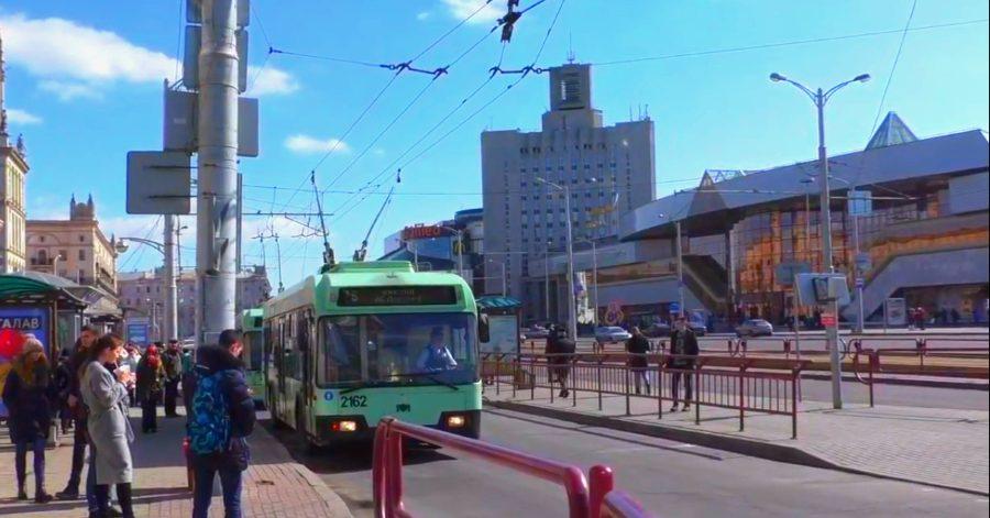 Троллейбусы подстрахуют метро в Минске 21 и 22 марта