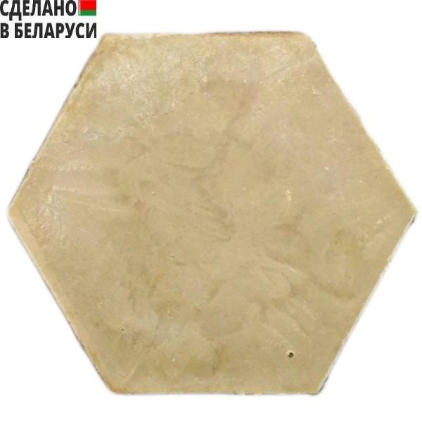 Полимерно-песчаная садовая плитка бежевого цвета