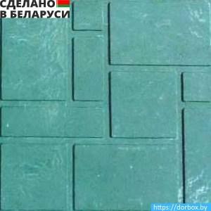Зеленая полимерпесчаная плитка со склада в Минске