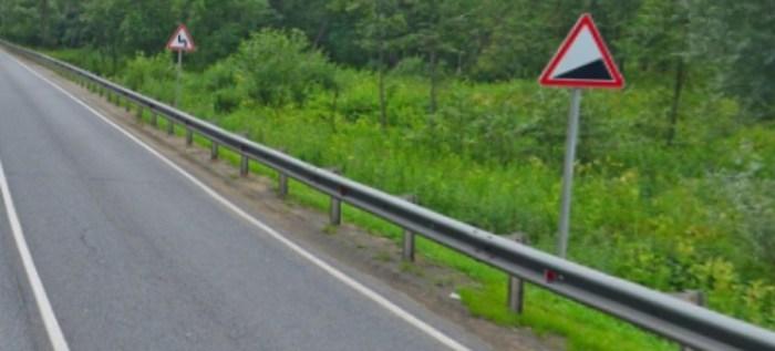 Знак дорожный 1.14 крутой подъём на фото