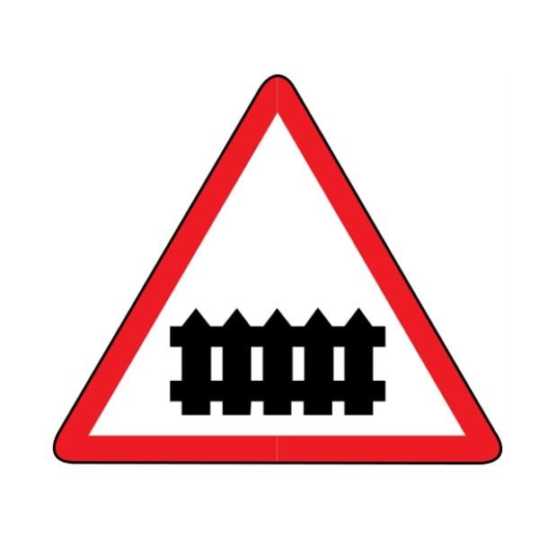 Знак дорожный 1.1 - ЖД переезд без шлагбаума