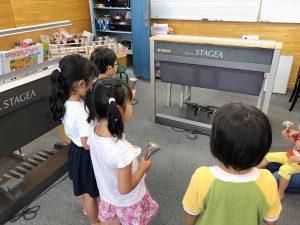 久留米 ピアノ 教室 グループ レッスン 幼児 風景