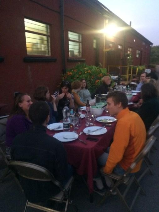 Communal outdoor dinners - in Cumbria!