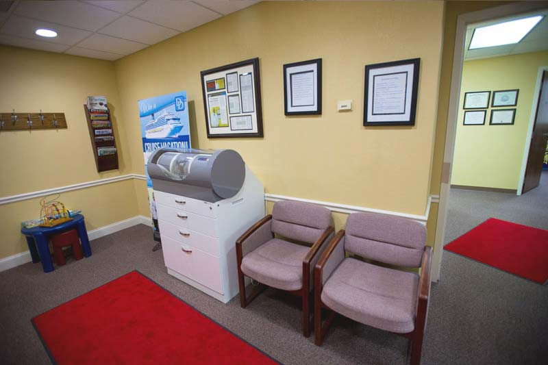 Chairs at the Waiting Area at Dores Dental in Longmeadow, MA