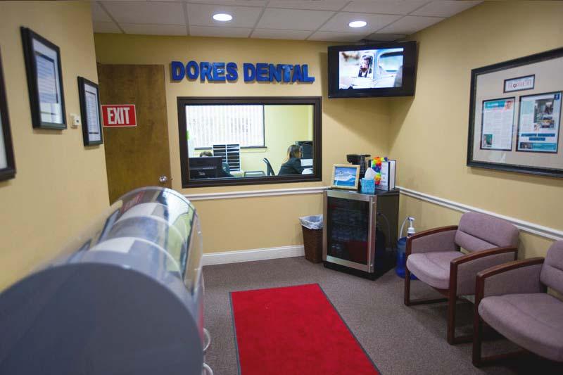 Waiting Area at Dores Dental in Longmeadow, MA