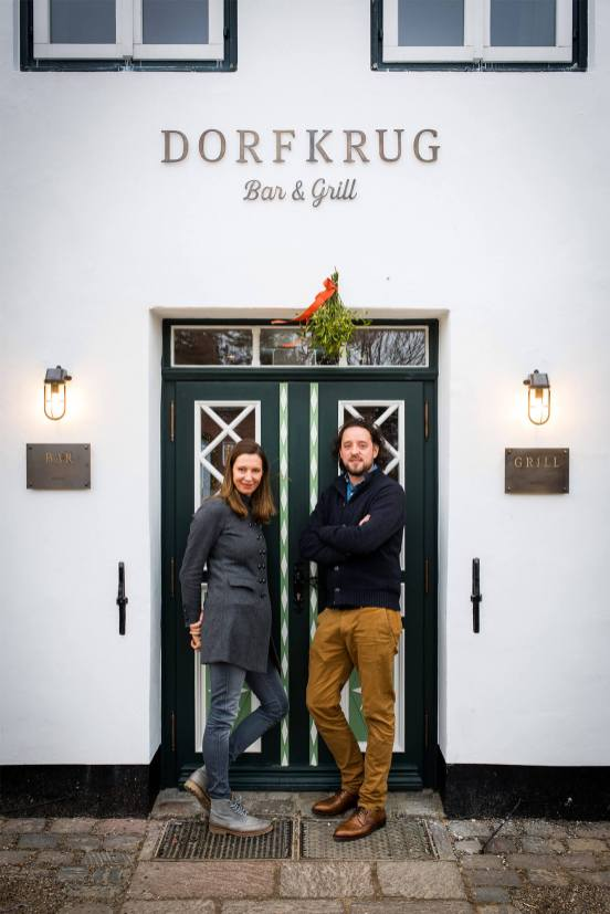 Restaurant Dorfkrug Kampen Bar Grill Exterieur Inhaber