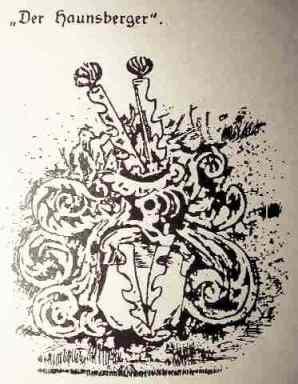 Das Wappen der Haunsberger