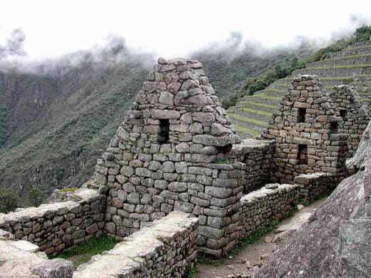 Machu-Picchu, Häusergruppe