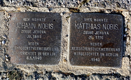 Stolpersteine in Holzhausen