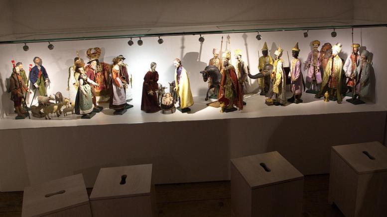 Krippe im Stille Nacht Museum Arnsdorf