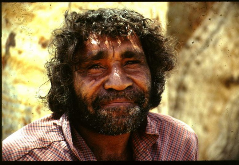Aboriginal aus Alice Springs in Australien